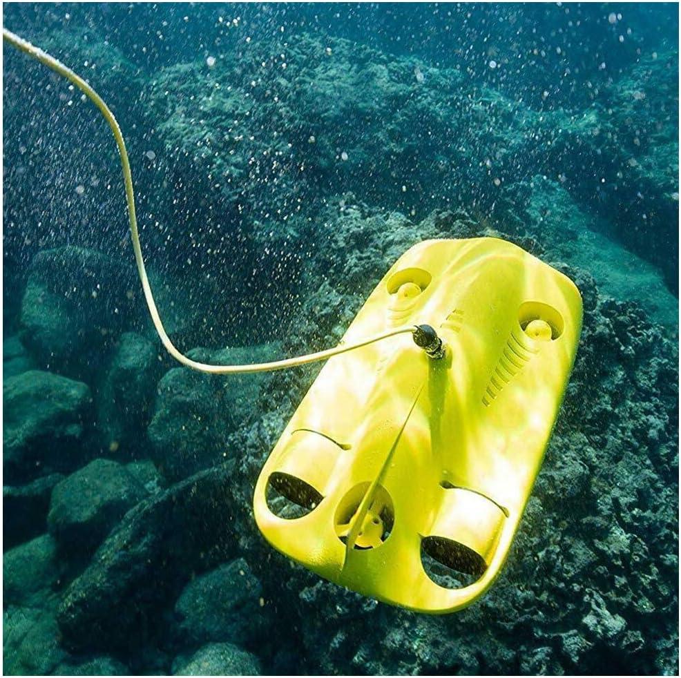 AHELT-J Drone Submarino, Drone Subacuático Chasing Innovation con Longitud de Cable de 50m / 100m