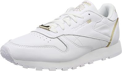 Reebok Cl LTHR L, Chaussures de Gymnastique Femme
