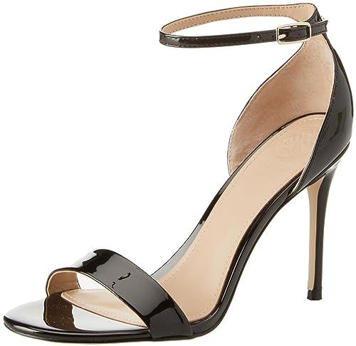 Bride Footwear Cheville SandalEscarpins Dress FemmeNoir Guess WEBQCrxode