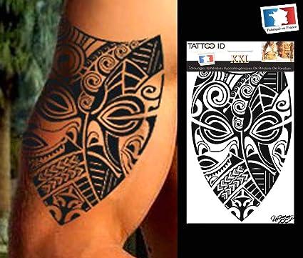 Marquisen - Tatuaje eferemere temporal para hombre y mujer, diseño ...