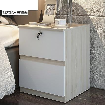 Amazon.com - EWYGFRFVQAS Small Locker with Drawer Simple Bedside ...