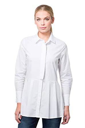 Beblush Ladies Shirt Top Pleated Blouse Office Wear Smart Casual
