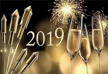 laeacco 2019 theme backdrop 10x65 vinyl photography background bokeh haloes 2019 words splendid