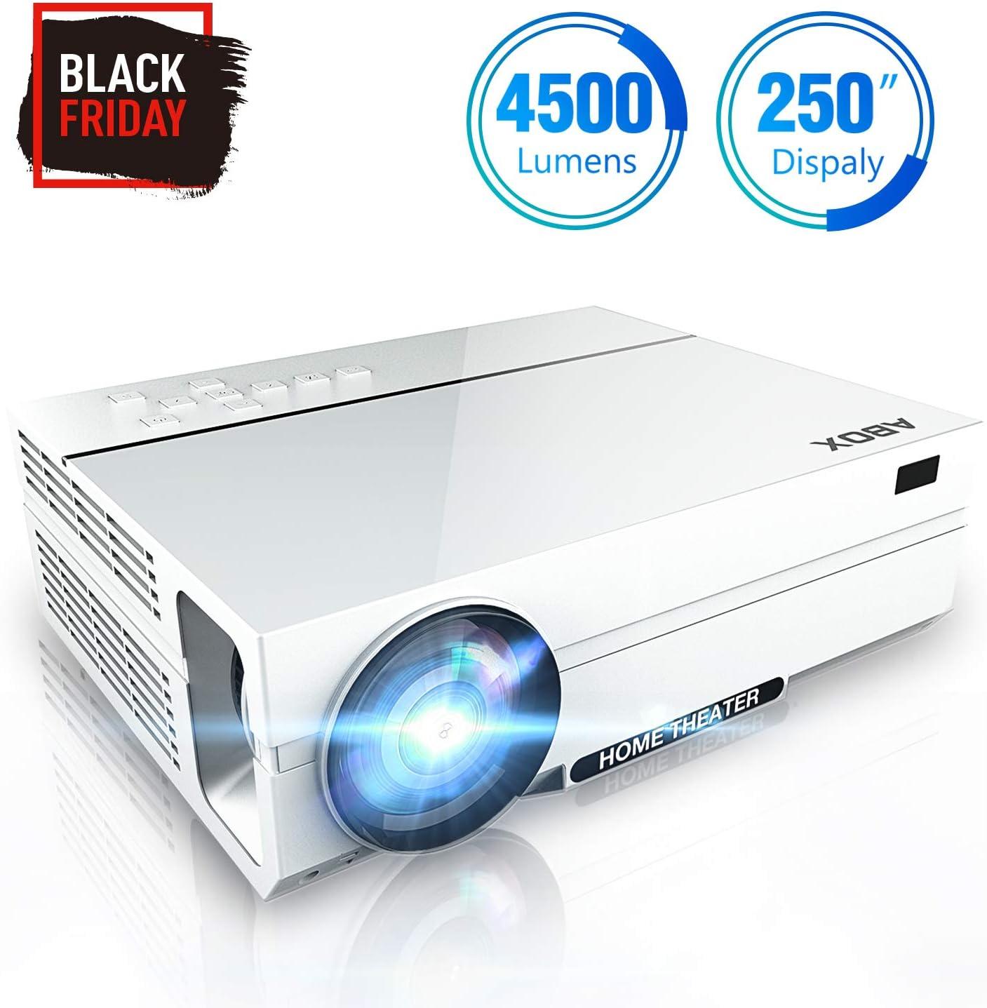 Proyector LED Full HD 4500 lúmenes Native 1080P (1920 x 1080 ...