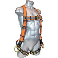Warthog 5 – Point Full Body Universal Harness with Side D-Rings and Tongue Buckle Legs (XL-XXL)
