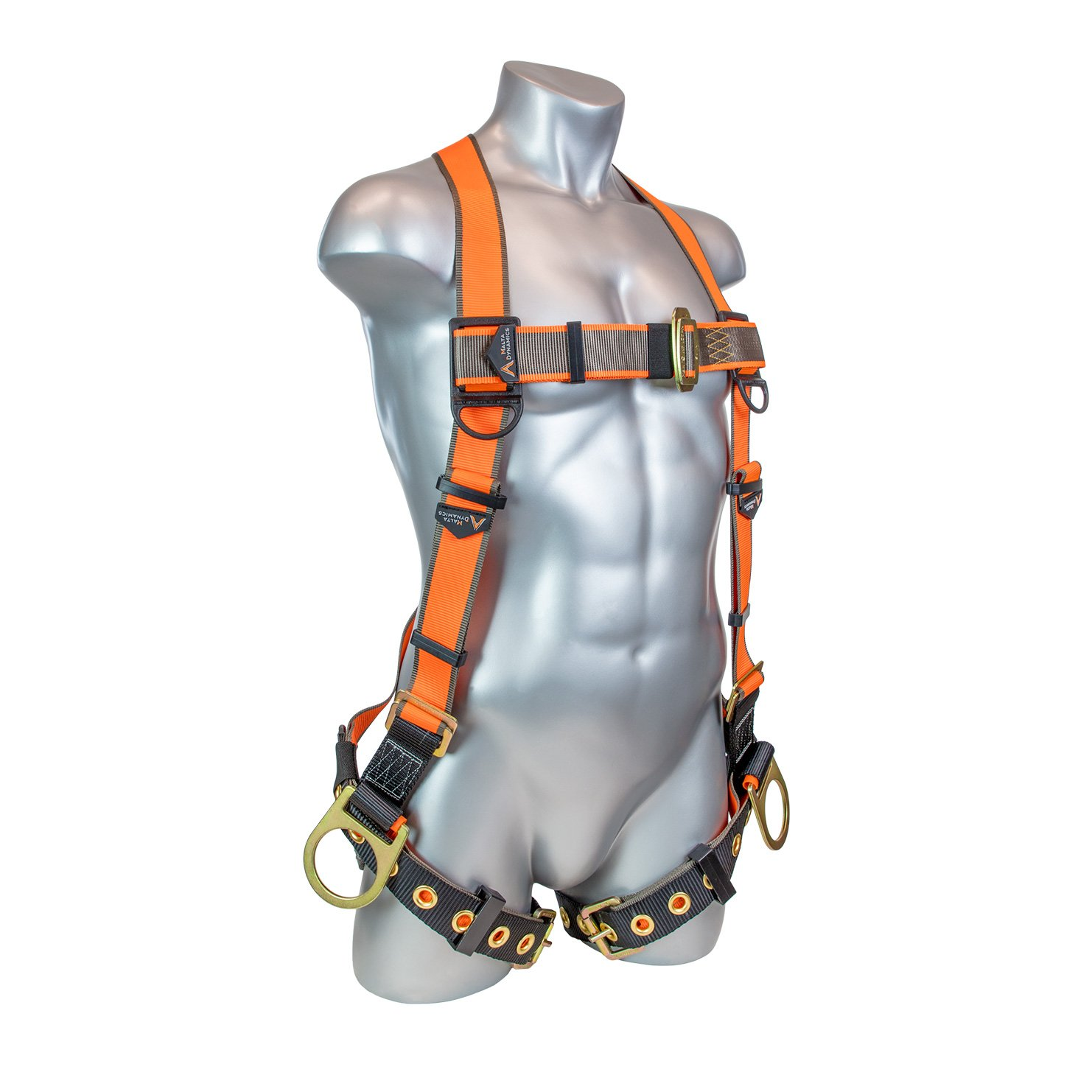Warthog 5 – Point Full Body Universal Harness with Side D-Rings and Tongue Buckle Legs (S-M-L)