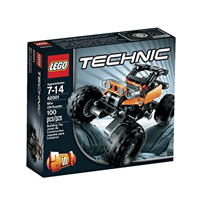 LEGO Technic 42001 Mini Off-Roader: Toys & Games