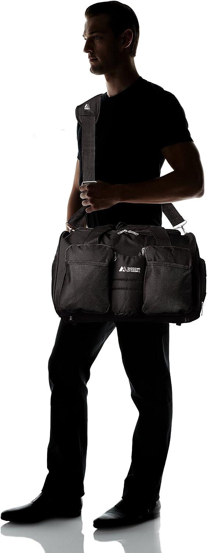 Black Everest Gym Bag with Wet Pocket