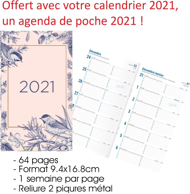 CALENDRIER 2021 QUEEN MAXI FORMAT offert un agenda de poche 2021 FREDDY MERCURY FORMAT A3