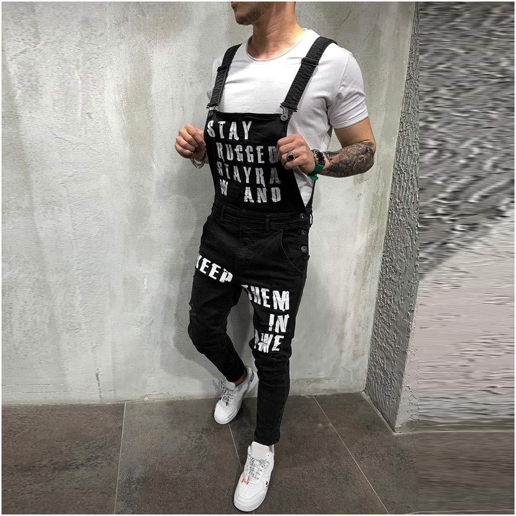Skinny Fit Denim Dungaree Overall Freizeit Hosen Retro Jumpsuits Hosentr/äGer Jeanshose 2019 MORETIME Herren Neue 70/% 0ff,Jeans Latzhose
