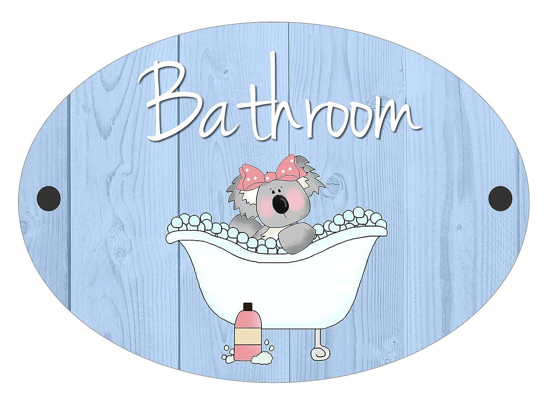 Bathroom Toilet Koala Fun Door Plaque Sign (Bathroom) Maisie Moo Gifts Limited