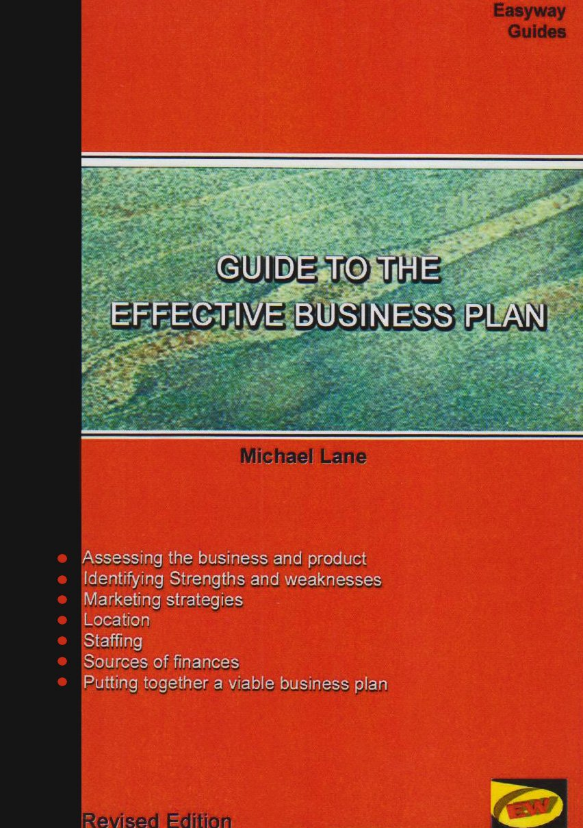 Guide to the Effective Business Plan pdf epub