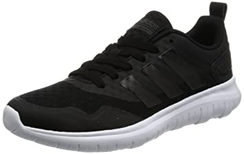 adidas cloudfoam trainers women black