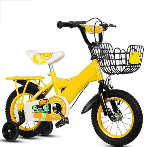 ZCRFY Bicicleta para Niños Bicicletas Infantiles Niñas Estudiante Pequeños Bebé Estructura De Acero Al Carbono Y Soporte Ajustable Peso Ligero Seguro Y Cómodo Equilibrio Triciclo: Amazon.es: Deportes y aire libre