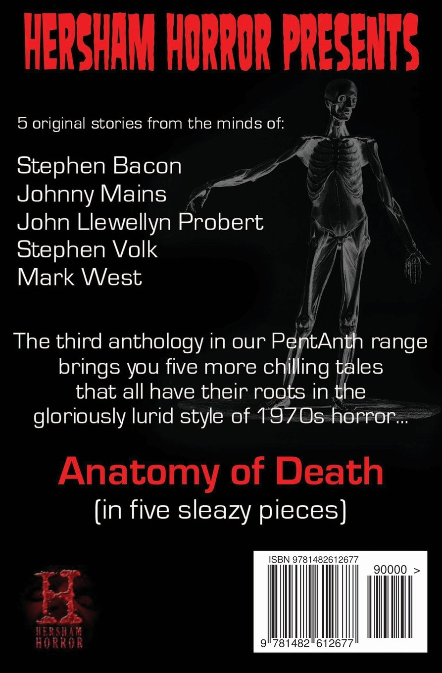 Anatomy of Death: In Five Sleazy Pieces (PentAnth) (Volume 3): Mark ...