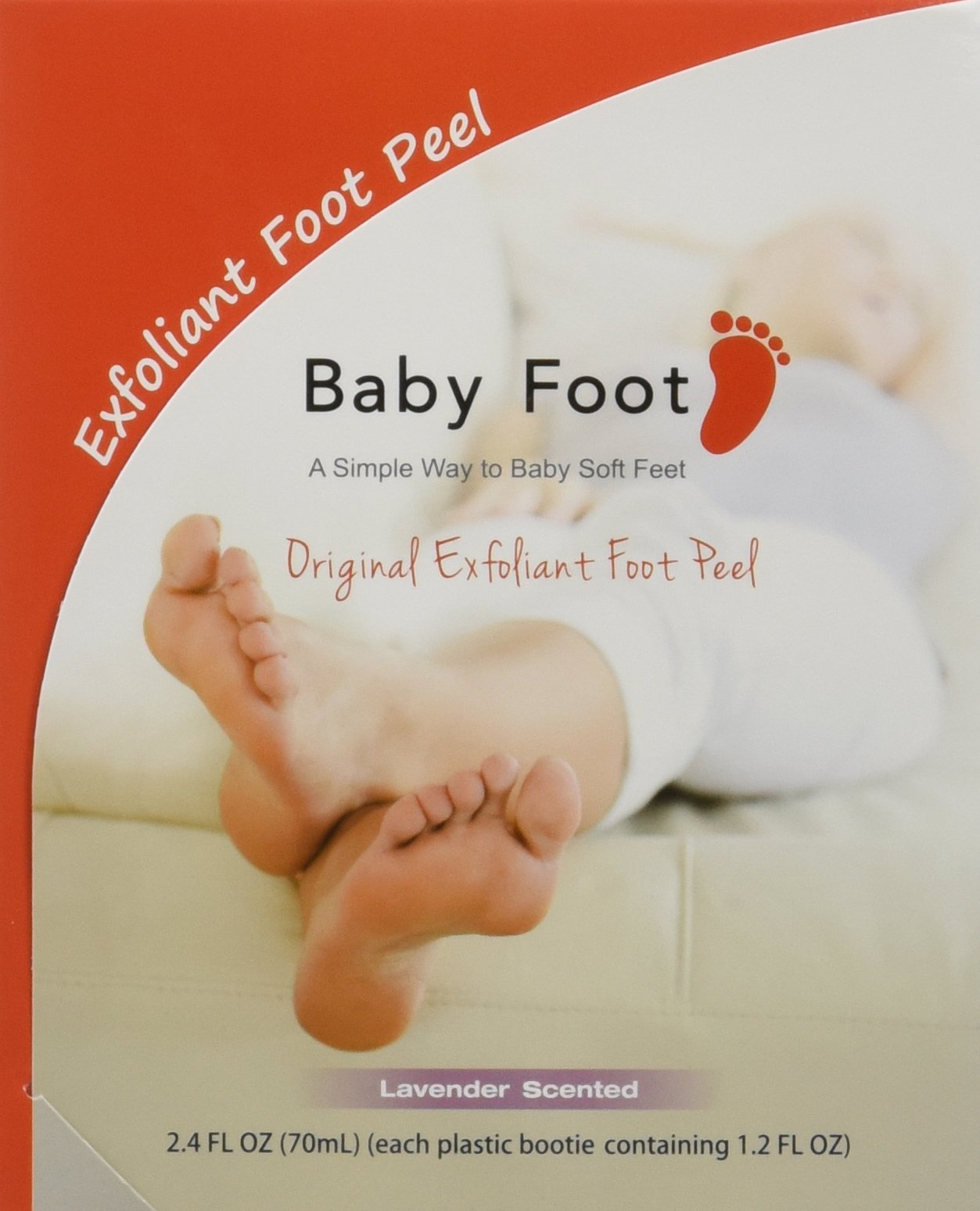 Baby Foot Original Deep Exfoliation for Feet Peel(2 count)Pack of 2