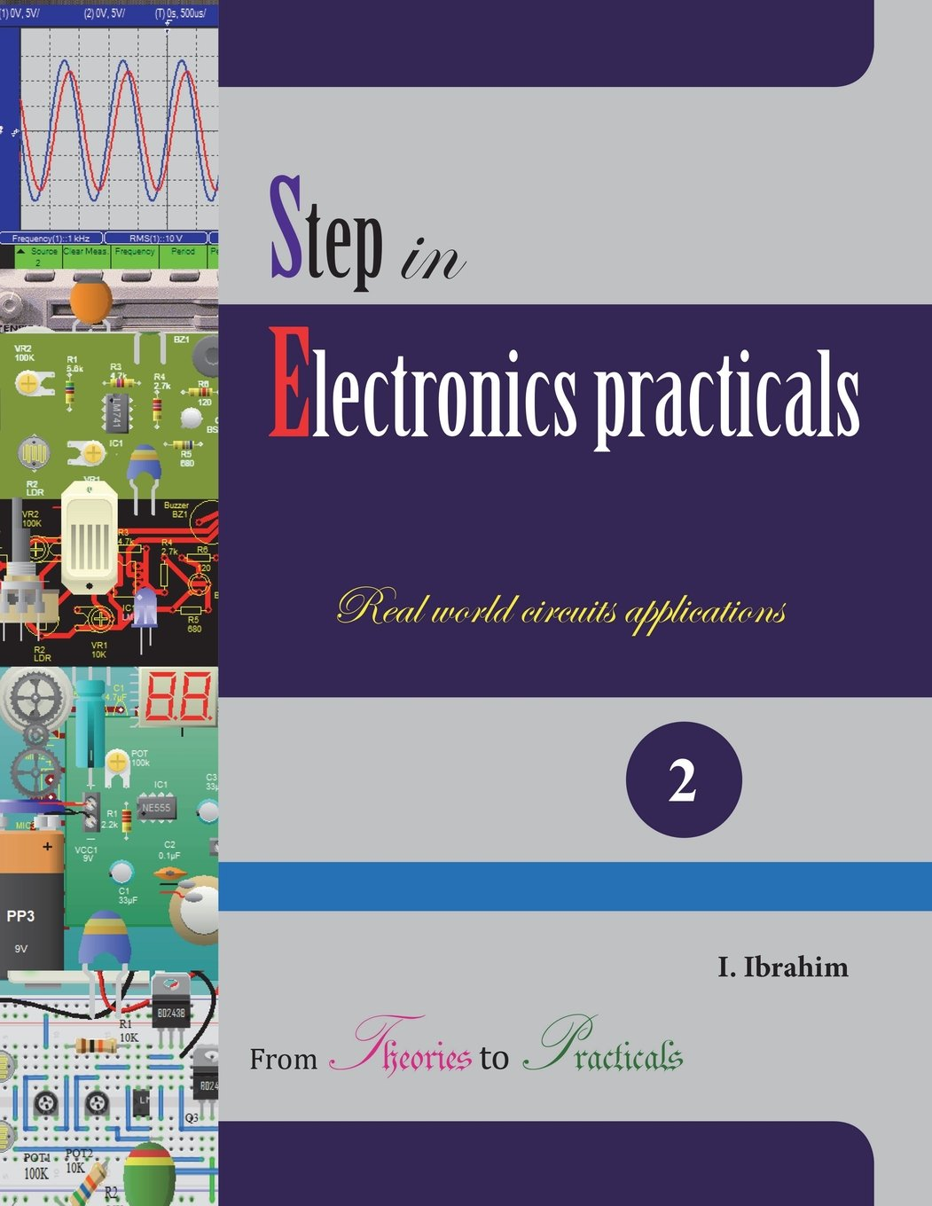 Step in Electronics Practicals: Real world circuits applications (Volume 2) PDF