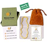 Raw Baltic Amber Teething Necklace for