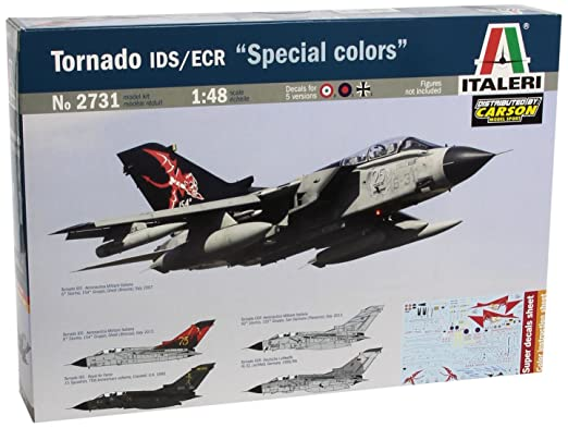 "3 opinioni per Italeri IT2731 Tornado IDS/ECR ""Special Colors"" Model Kit Scala 1:48"