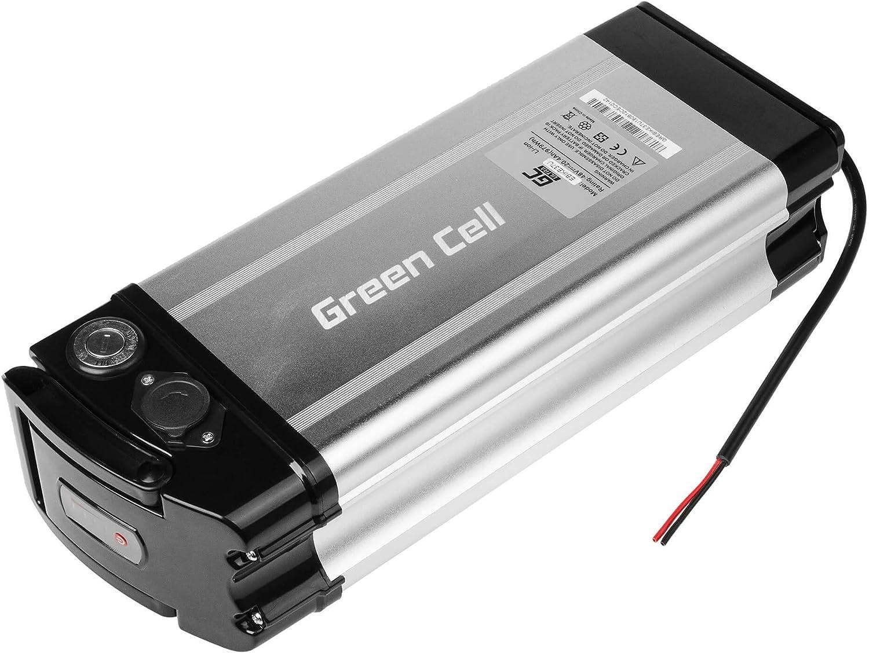 GC/® Batteria E-BIKE 48V 20.4Ah Pedelec Silverfish Mobe Husqvarna Matra Bergamont Flyer con Celle Panasonic Li-Ion e Caricabatterie