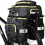 Rhinowalk Bike Bag Bike Pannier Bag Set,(for Bicycle Cargo Rack Saddle Bag Shoulder Bag Laptop Pannier Rack Bicycle Bag…