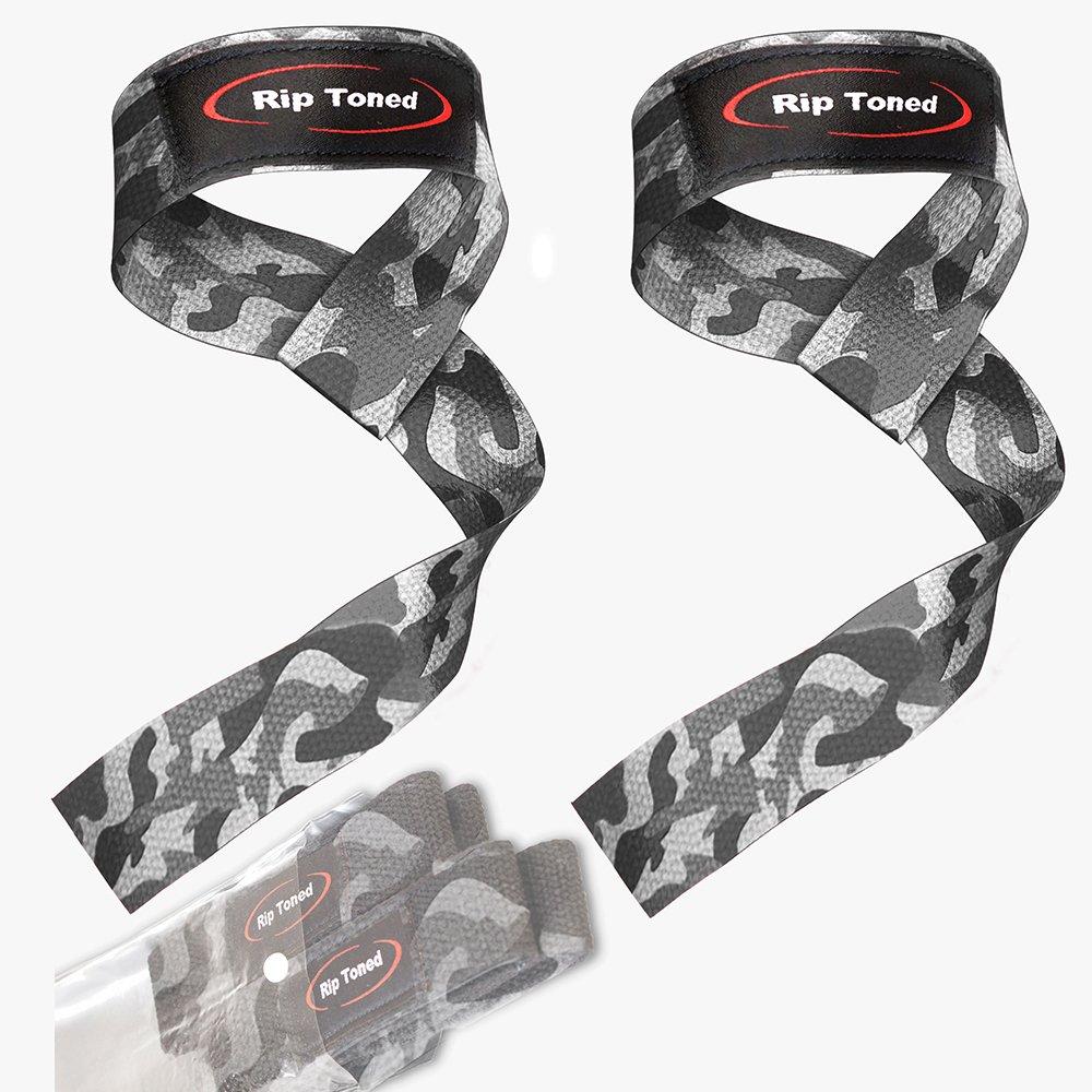 Powerlifting Zughilfen/ /gepolsterte Baumwolle MMA Rip Toned 1 Paar Handgelenk-Bandagen zum Gewichtheben Bodybuilding Krafttraining f/ür Gewichtheben Crossfit