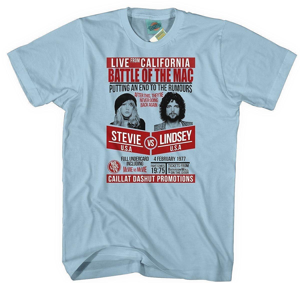 Fleetwood Mac Stevie Nicks vs Lindsey Buckingham Inspired, Hommes T-Shirt