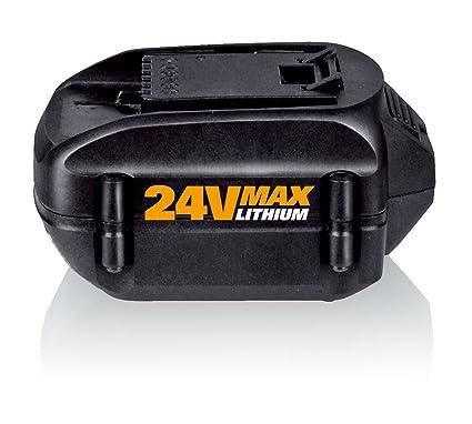 Amazon.com: Worx wa3526 24-volt Batería de litio para wg167 ...