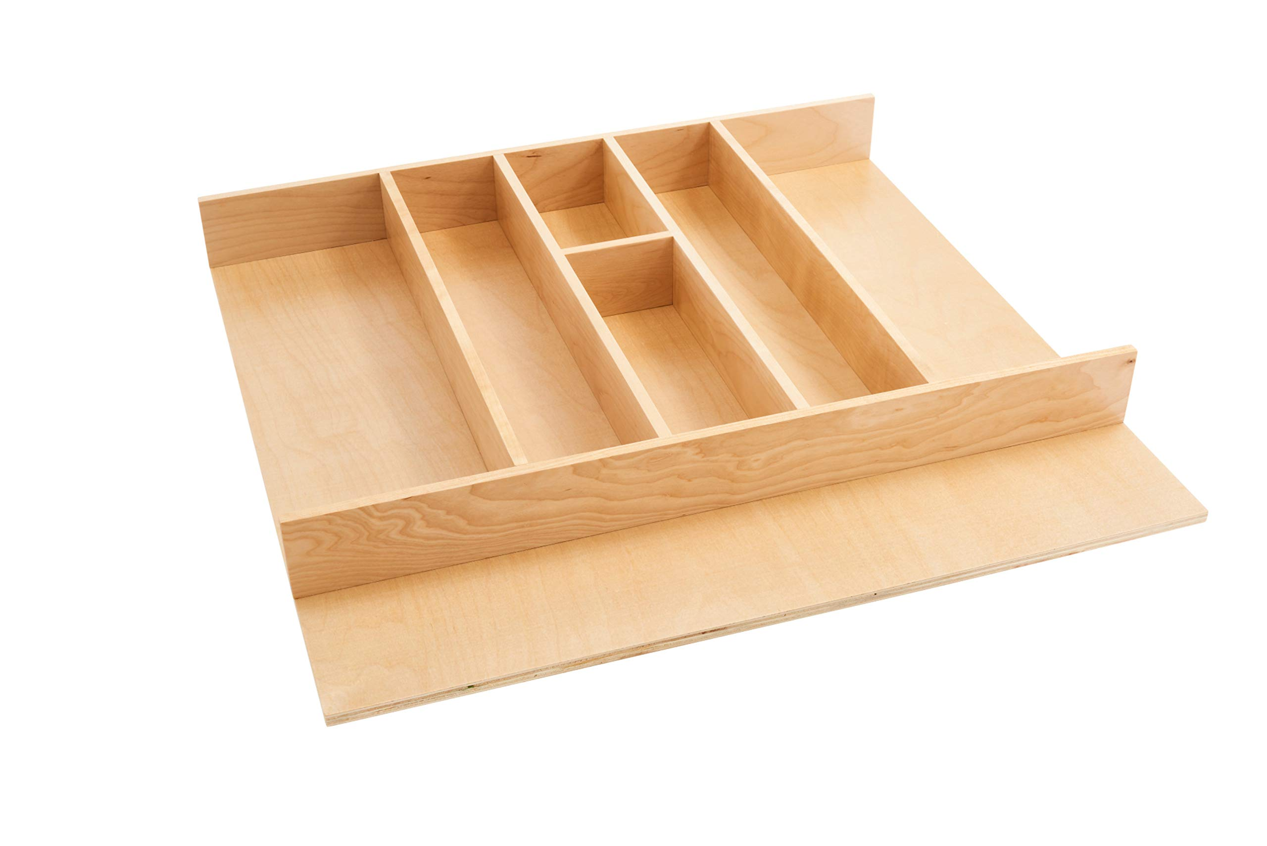 Rev-A-Shelf Tall Wood Utility Tray Insert Large Natural