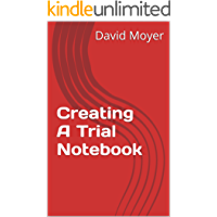 Creating A Trial Notebook (English Edition)