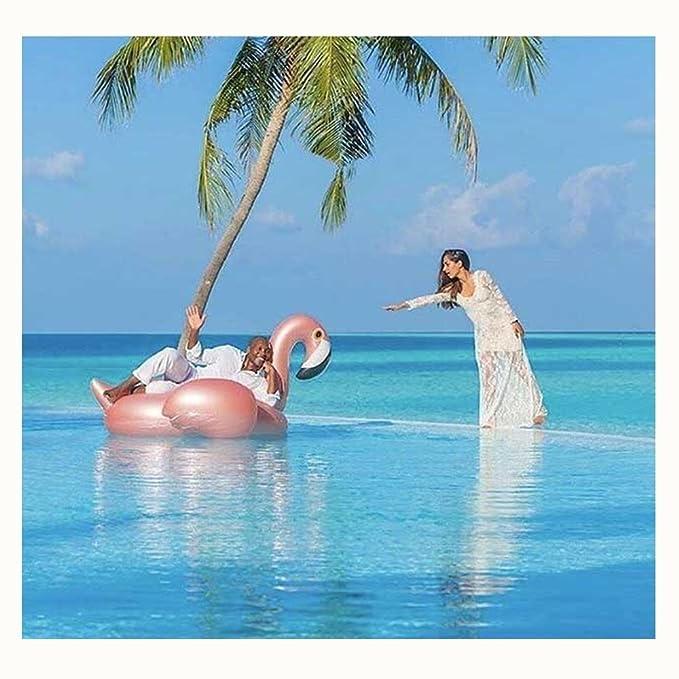 wanxing calcualdora hinchable Flamingo Aire colchones calcualdora Pool Balsa de agua flotante cama schwimminsel Party playa verano Agua juguete Niños ...
