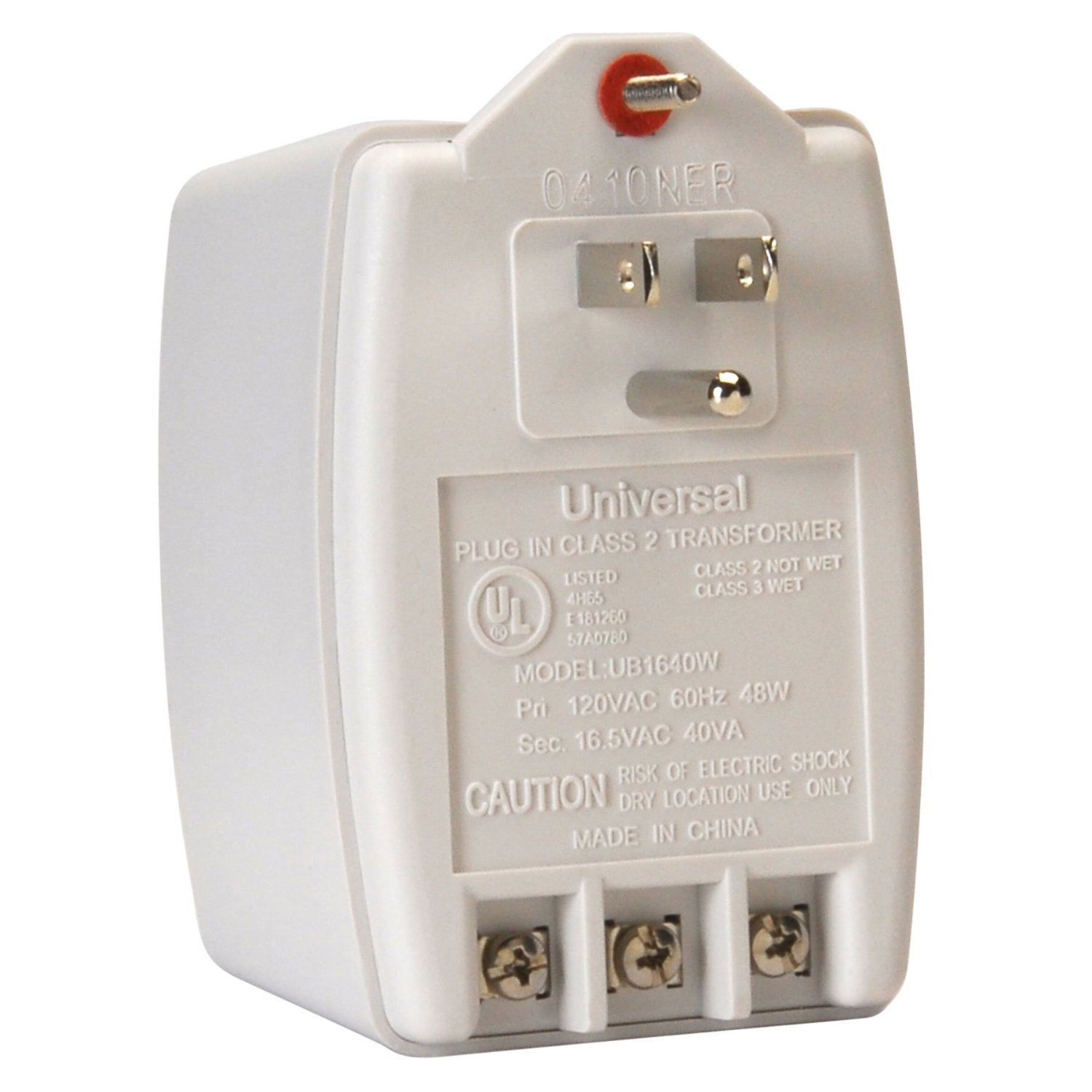 Plug Transformer Wiring Trusted Diagram Up A Amazon Com Universal In Class 2 Input120vac Rh Square D