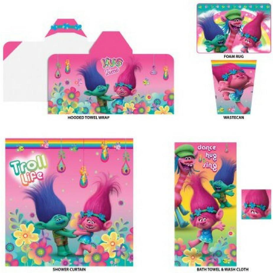Kids 5-Piece Bathroom in a Bag Set Exclusive, Kids Bathroom