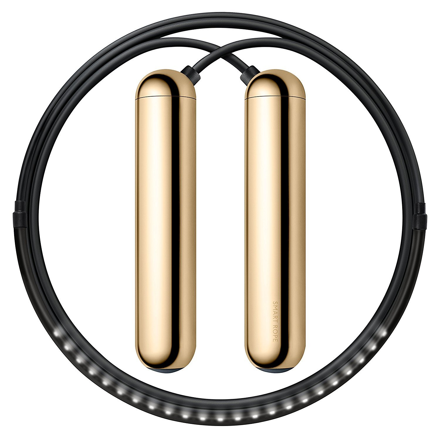 TANGRAM Factory Smart Rope - LED Embedded Jump Rope (Gold, Small)