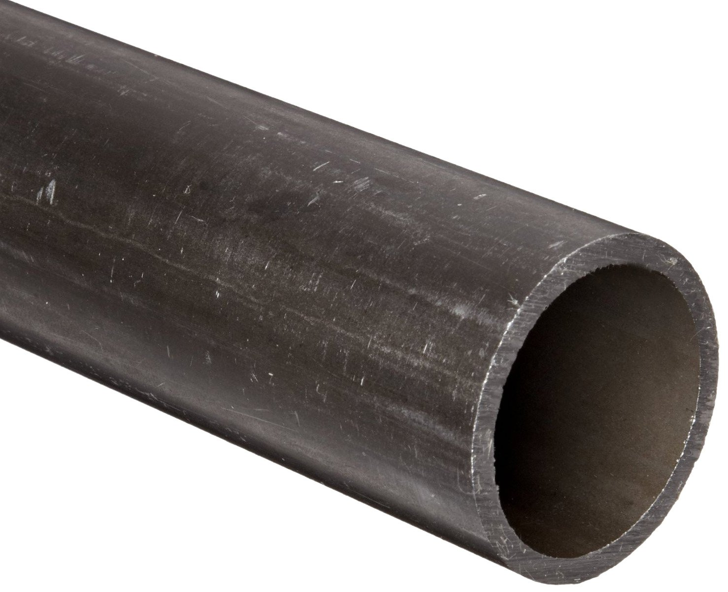 Cold Rolled Steel A513 Drawn Over Mandrel Round Tubing, ASTM A513, 3'' OD, 2.625'' ID, 0.1875'' Wall, 72'' Length