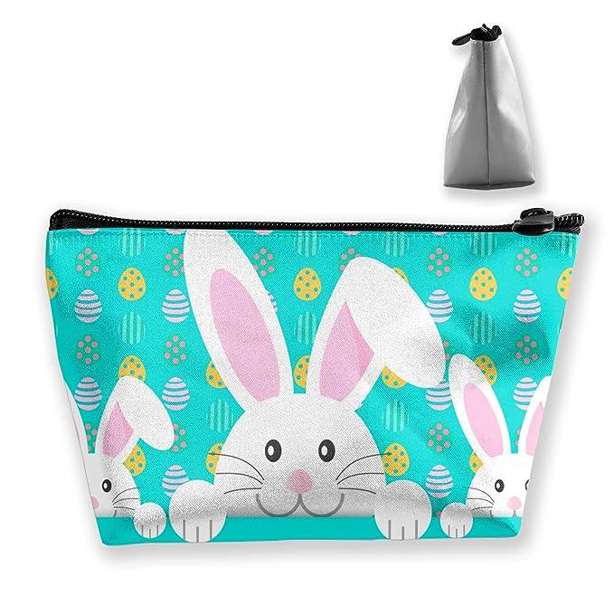 e12b8c6986ad Amazon.com: Women's White Rabbit Family Hidden In Eggs Travel ...