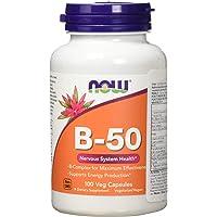 Now Foods B-50, Veg Capsules, 100ct