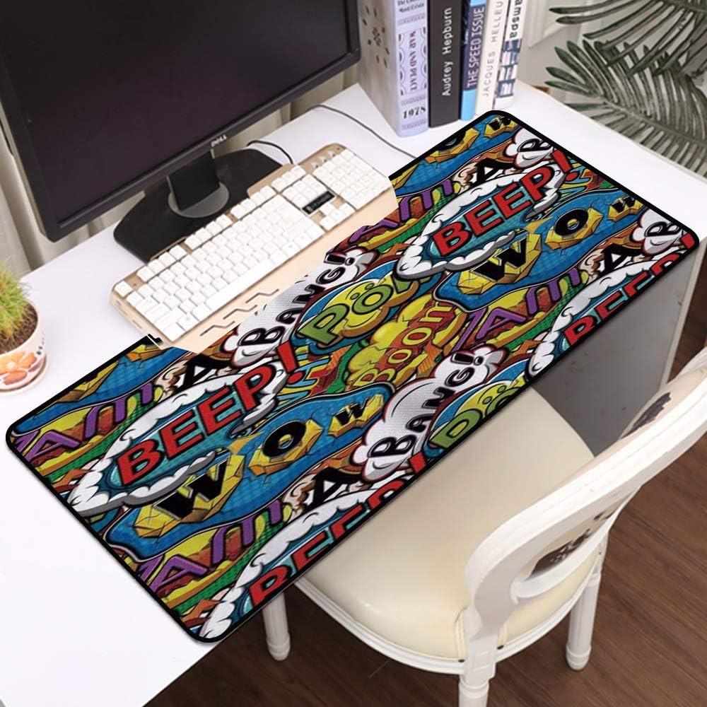 Luoquan Alfombrilla Raton Grande Gaming Mouse Pad,Comics ...