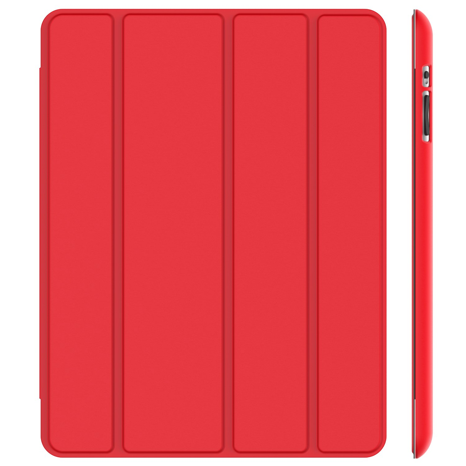 JETech Case for iPad 2 3 4 (Old Model), Smart Cover with Auto Sleep/Wake, Red J0216