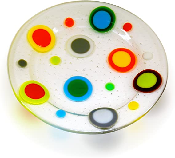 1 Circle Rainbow Assortment Fusible Pre-Cut 8 Pack 90 COE