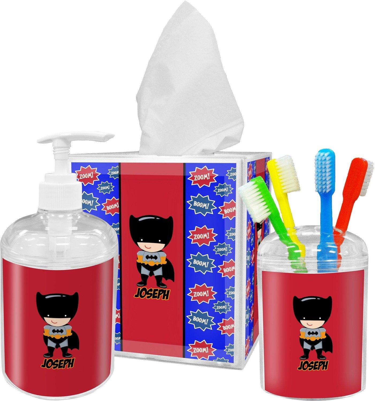 amazoncom superhero bathroom accessories set home u0026 kitchen