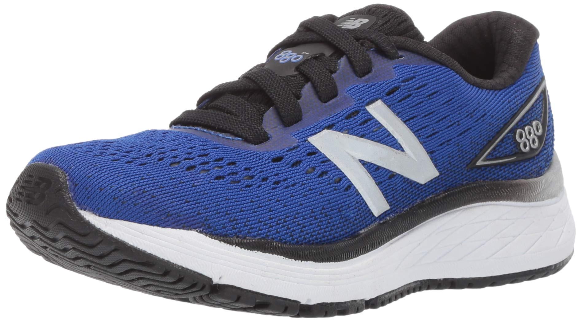New Balance Boys' 880v9 Running Shoe, uv Blue/Black, 6.5 XW US Big Kid