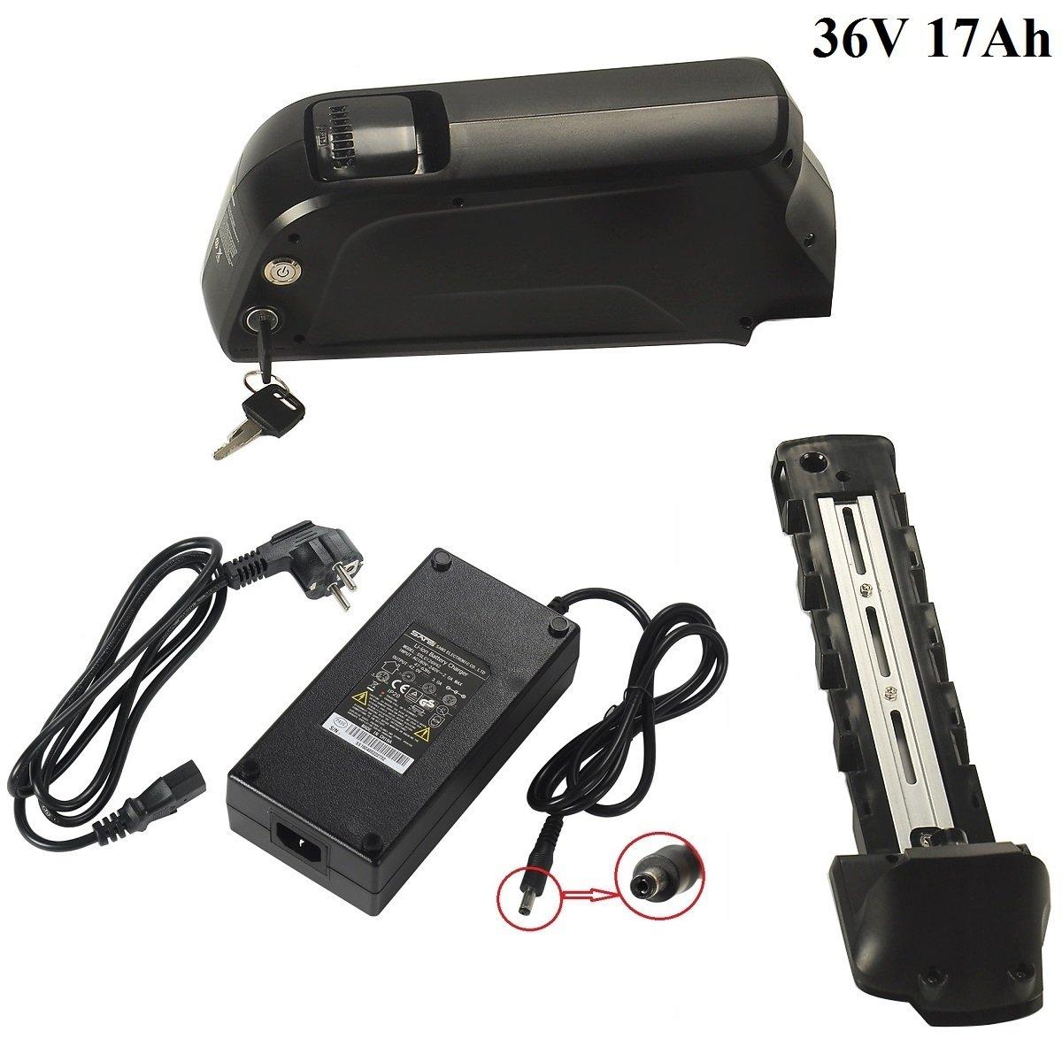 Batería de Litio-Ion 36V 17Ah con USB con 3A Cargador ...