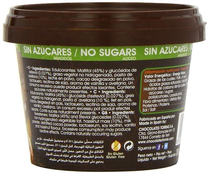 TORRAS - CREMA CACAO S/G S/A TORRAS: Amazon.es: Alimentación y bebidas
