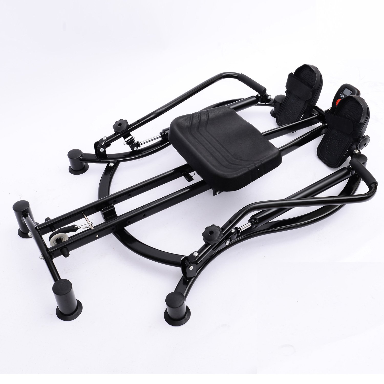 Soozier Adjustable Fitness Home Workout Rower Glider Machine by Soozier