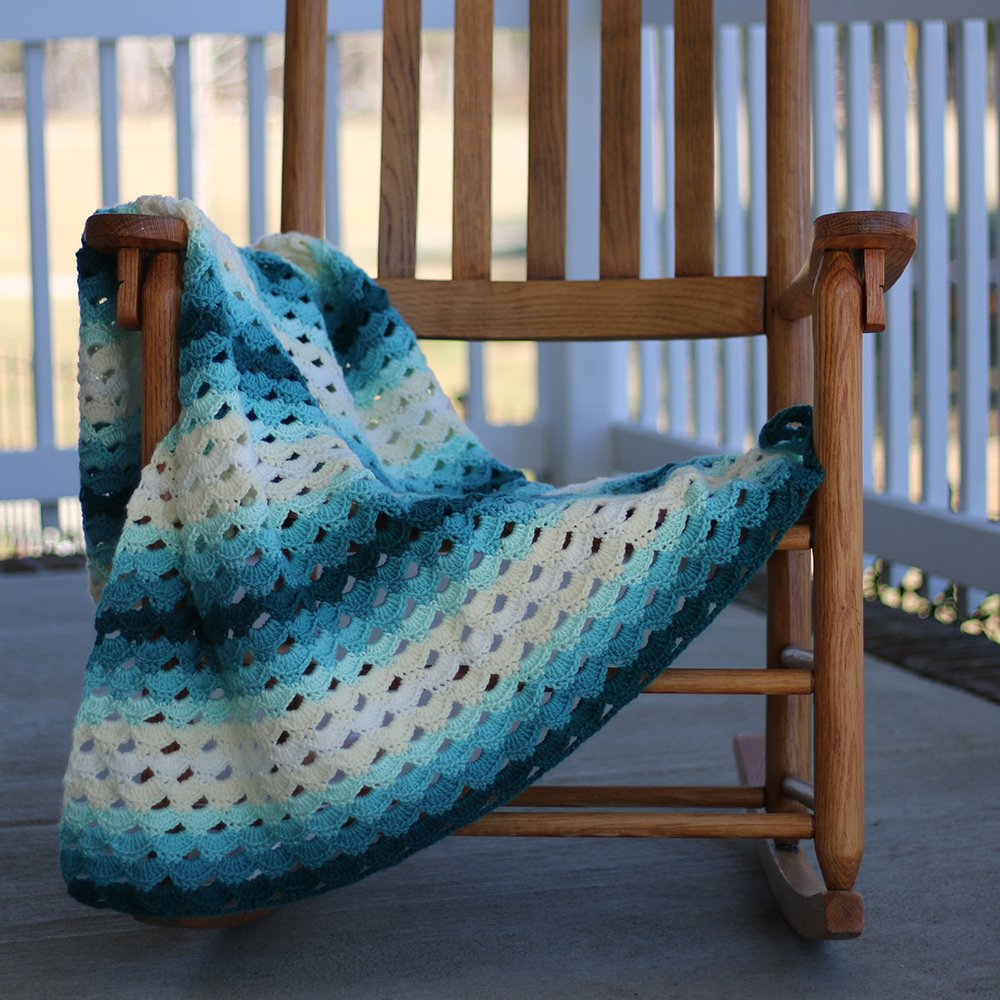 Cro-Kits Mermaid Crochet Afghan Kit by Cro-Kits (Image #3)