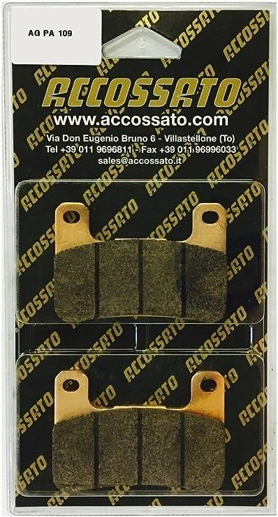 Accossato Pastiglia freno AGPA109ST 2011-2014 RAD.CAL KAWASAKI  Z 1000 SX 1000