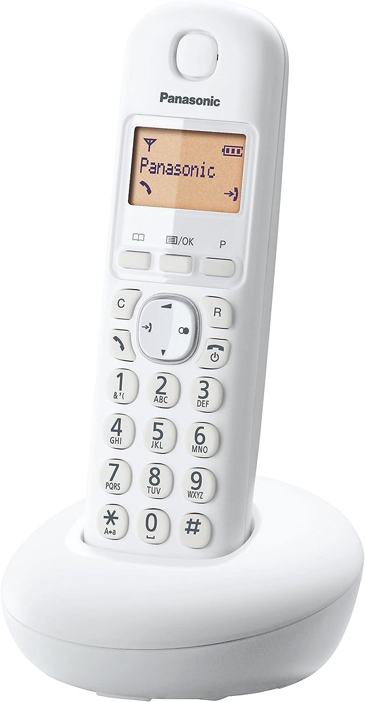 Panasonic KX-TGB213 - Teléfono fijo inalámbrico Trío (LCD, identificador de llamadas, Intercomunicación, agenda de 50 números, tecla de navegación, alarma, reloj), Negro, TGB21 Trio: Panasonic: Amazon.es: Electrónica
