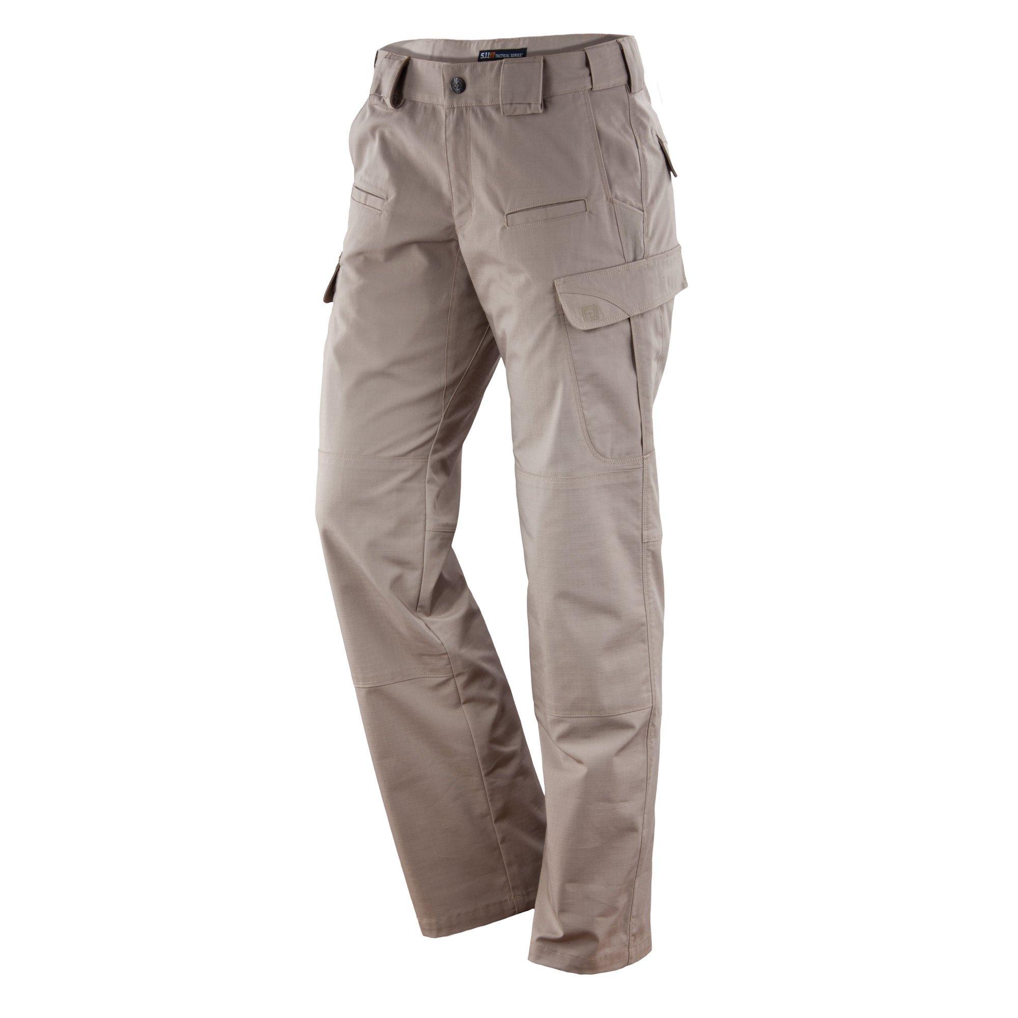 5.11 Tactical Women's EDC Stryke Pants, Khaki, 0/Long by 5.11