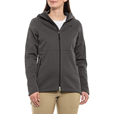 The North Face Women's Apex Risor Hooded Softshell Jacket, Dark Grey Heather: Sports & Outdoors